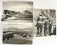 Lot of three photographs from Israeli historical events