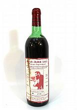 Wine bottle the image of Herzl