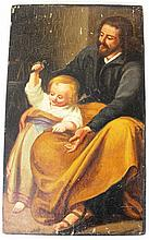 Unknown artist, Jesus and Saint Joseph