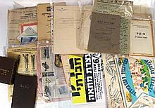 Lot of documents related to Judaism or Eretz Israel