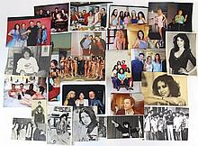Lot of photographs of famous Israeli people