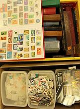 Large lot of worldwide stamps