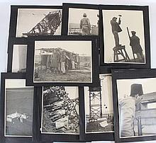 Lot of photographs of the founding of the Homa Umigdal settlements