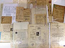 Lot of documents related to Judaism in Europe