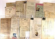 Lot of documents related to Aliya and to the British Mandate Palestine