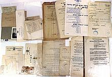 Lot of documents and ephemera related to the Police