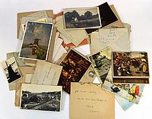Lot of letters and postcards - Jewish Brigade