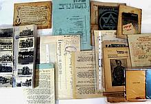 Lot of documents and photographs of the Jewish Brigade
