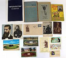 Lot of documents and ephemera related to Herzl