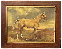 Unidentified artist, a horse