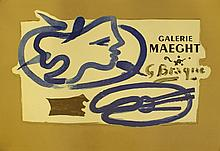 Lithographic poster, Braque