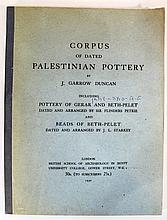 Corpus of the Dated Palestinian Pottery