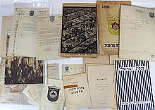 Lot of documents  related to Tel Aviv