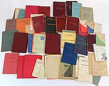 Lot of Miscellaneous documents and ephemera, Eretz Israel and Israel
