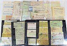 Lot of bank checks from Eretz Israel