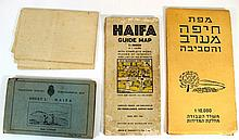 Lot of maps of Haifa