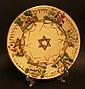 A Capo Di Monte Seder plate