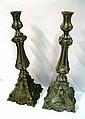 A Pair of Polish Candlesticks