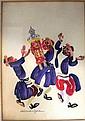 Pola Weizmann watercolor