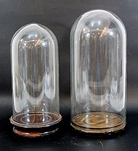 Pair of display stands