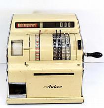 Vintage cash register by Anker, Holland