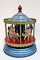 Tin carousel merry-go-round