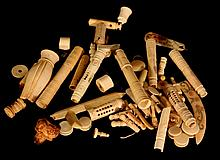 Lot of ivory items