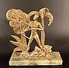 Hagenauer style brass sculpture