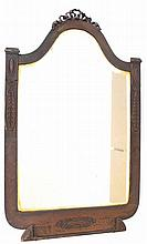 Mirror with a copper frame