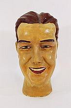Art-Deco plaster mannequin head