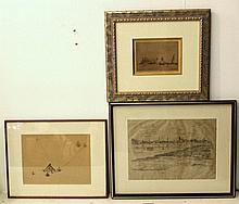 Hermann Struck (1876-1944), lot of three prints