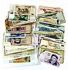 Lot of over 100 Israeli banknotes