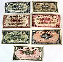 Lot of Anglo-Palestine and Leumi notes