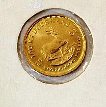 Krugerrand 22k gold coin