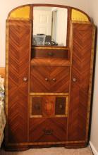 Vintage Waterfall Dresser