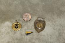 Lot of 3 Tennessee School Badges.