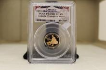 2009S PCGS PF69DC RED LINCOLN