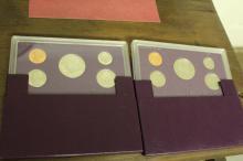 1990 & 1991 US Mint Proof Set UNC