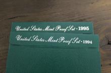 1994 & 1995 US Mint Proof Set UNC