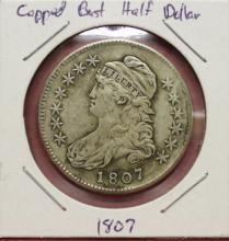 1807 Capped Bust Half Dollar