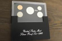 1997 US Mint Silver Proof Set