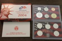 2004-S United States Mint Silver Proof Set