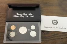 1997-S US Mint Silver Proof Set