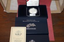 2004 Lewis & Clark Bicentennial Silver Proof Dollr