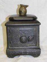 Vintage McCoy (?) Cookie Safe Cookie Jar