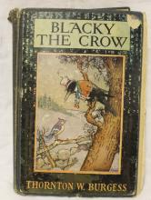1928 Blacky The Crow by Thornton Burgess