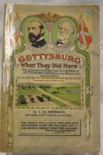 1924 Gettysburg Historical Illustrated Guide Book