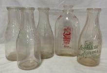 Vintage Avondale Farms, Knoxville Milk Bottles