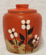 Vintage Robinson Ramsbottom Pottery Cookie Jar
