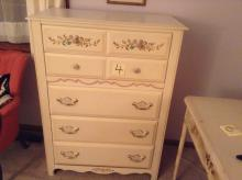 Vintage French Provincial dresser made by Broyhill